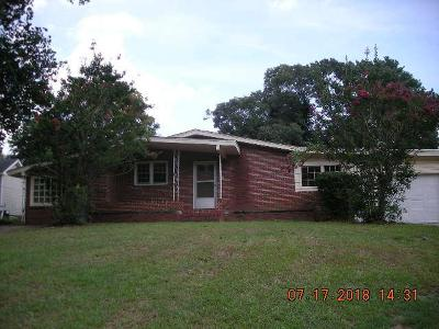 North Augusta SC Single Family Home For Sale: $69,000