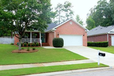 Grovetown Single Family Home For Sale: 1346 Wendell Lane