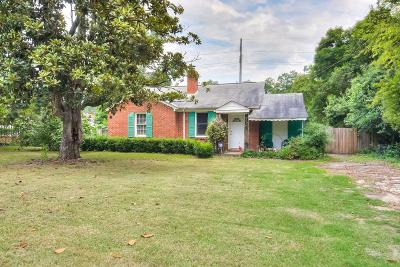 Augusta Single Family Home For Sale: 1025 Bedford Drive