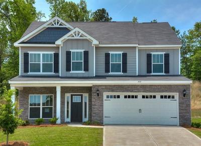 Augusta Single Family Home For Sale: 845 Burlington Drive