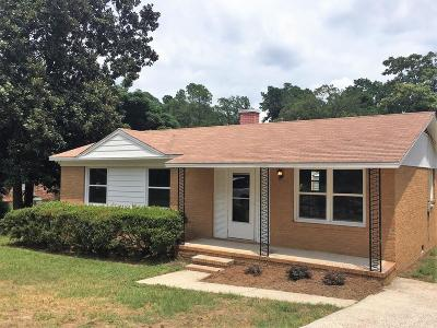 North Augusta Single Family Home For Sale: 403 Fairview Street