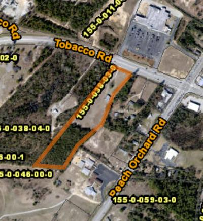 Augusta Commercial For Sale: 2204 Tobacco Road