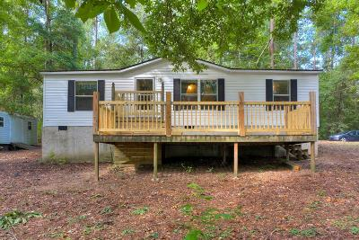 Richmond County Manufactured Home For Sale: 1121 A Union Cemetery Road