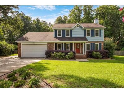 Evans Single Family Home For Sale: 498 Fairfield Court