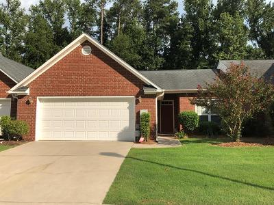 Augusta GA Single Family Home For Sale: $130,000