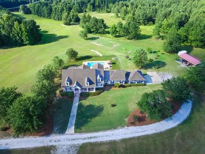 McDuffie County Single Family Home For Sale: 434 Starr Hinson Road