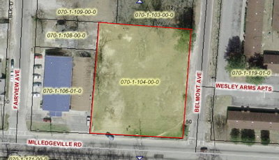 Augusta Residential Lots & Land For Sale: 1830 Belmont Avenue
