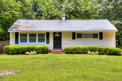North Augusta Single Family Home For Sale: 2010 Canary Lane