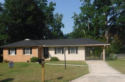 Augusta Single Family Home For Sale: 1725 Sandalwood Drive