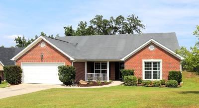 Grovetown Single Family Home For Sale: 4836 High Meadows Drive