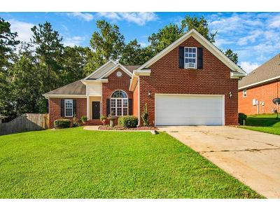 Grovetown Single Family Home For Sale: 521 Marble Falls