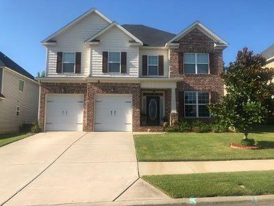 Grovetown Single Family Home For Sale: 3022 Kilknockie Drive