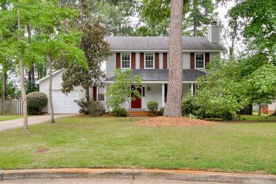 Evans Single Family Home For Sale: 485 Pheasant Run Drive