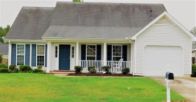 Grovetown Single Family Home For Sale: 612 Creek Bottom Trail