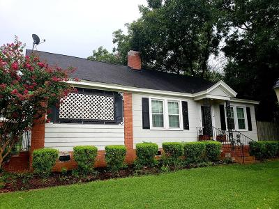 Edgefield County Single Family Home For Sale: 603 Academy Street