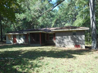 Dearing Single Family Home For Sale: 3751 Larkin Road