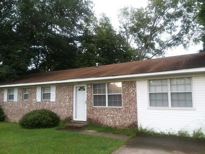 Augusta GA Single Family Home For Sale: $75,000