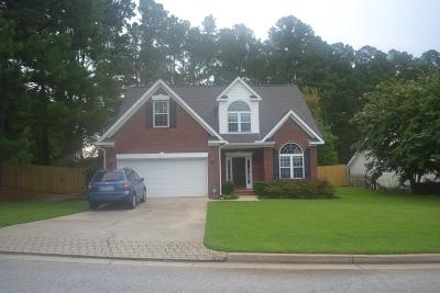 Evans Single Family Home For Sale: 901 River Bound Court