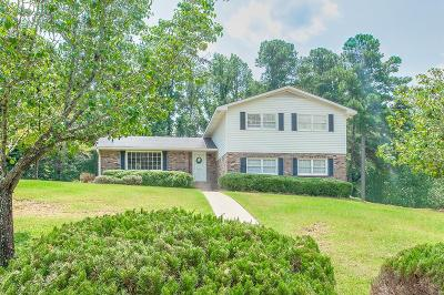 North Augusta Single Family Home For Sale: 2307 Maple Drive