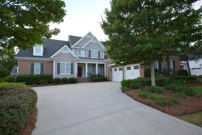 Evans Single Family Home For Sale: 743 Bishops Circle