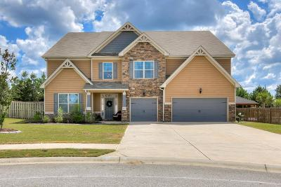 Grovetown Single Family Home For Sale: 335 Clearwater Lane