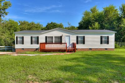 Beech Island Single Family Home For Sale: 351 Dixie Clay Road
