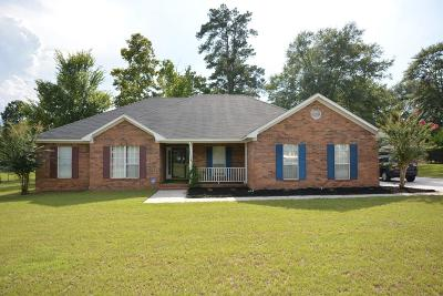 Richmond County Single Family Home For Sale: 2724 Willis Foreman Road