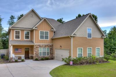 North Augusta Single Family Home For Sale: 255 Pecan Grove Road