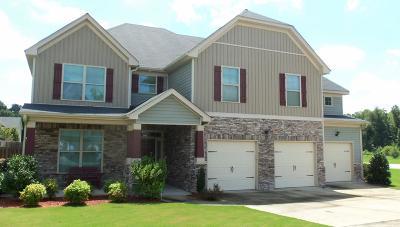 Hephzibah Single Family Home For Sale: 3102 Pebblebrook Lane