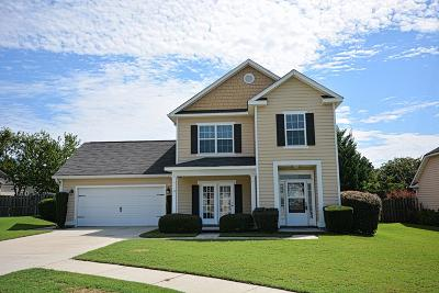 Grovetown Single Family Home For Sale: 2124 Magnolia Pkwy