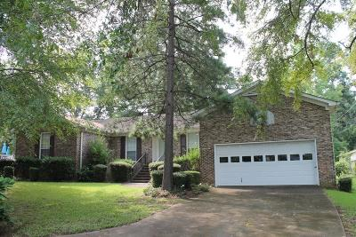 Single Family Home For Sale: 4510 Hereford Farm Road