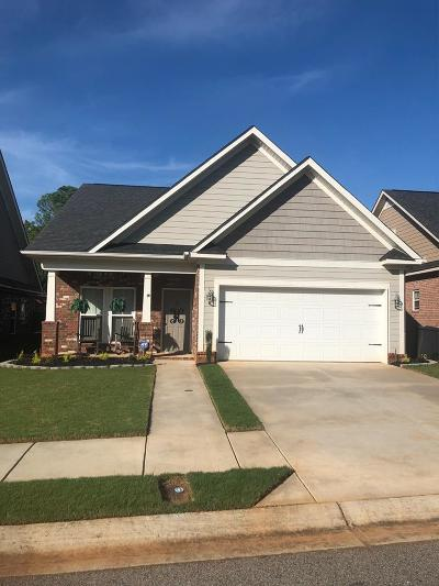 Evans Single Family Home For Sale: 1019 Barrett Drive