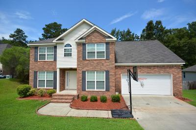 Grovetown Single Family Home For Sale: 4866 Orchard Hill Drive