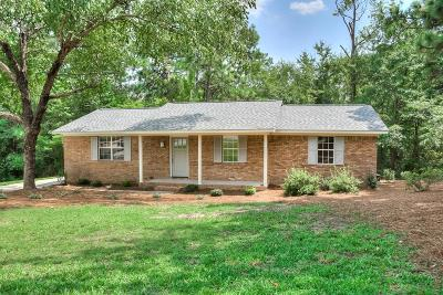 Aiken Single Family Home For Sale: 3309 Victoria Drive