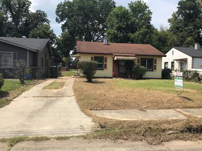 Augusta GA Single Family Home For Sale: $28,900