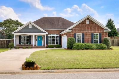 Grovetown Single Family Home For Sale: 216 Rainbow Falls