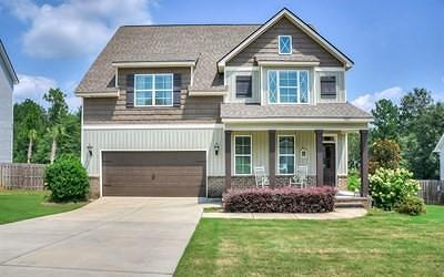 North Augusta Single Family Home For Sale: 7957 Canary Lake Road
