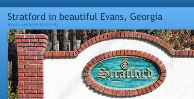Evans Residential Lots & Land For Sale: 4982 Sussex Drive