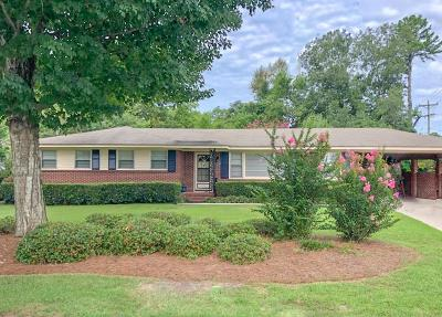 North Augusta Single Family Home For Sale: 1844 Paris Avenue