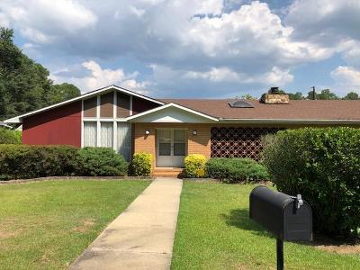 Augusta GA Single Family Home For Sale: $167,900
