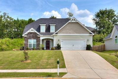 Grovetown Single Family Home For Sale: 433 Keesaw Glen