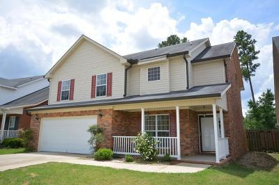 Grovetown GA Single Family Home For Sale: $175,000