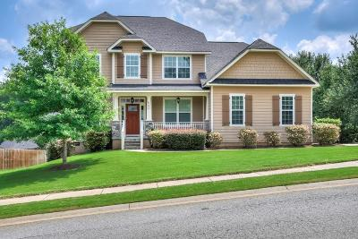 Grovetown GA Single Family Home For Sale: $289,900
