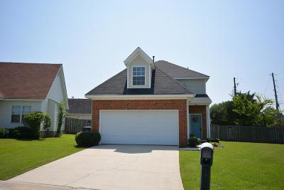 Augusta GA Single Family Home For Sale: $139,700