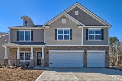 Evans GA Single Family Home For Sale: $271,975