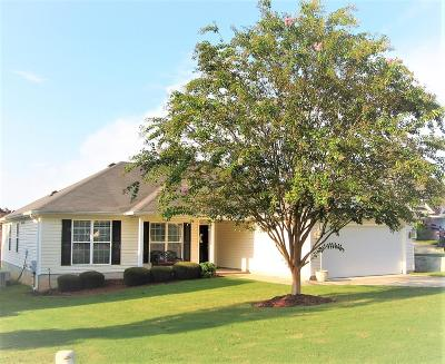 Grovetown GA Single Family Home For Sale: $154,900