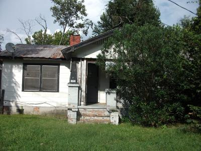 Augusta GA Single Family Home For Sale: $10,000