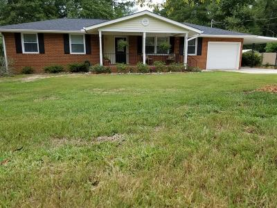 North Augusta Single Family Home For Sale: 1704 Lowe Street