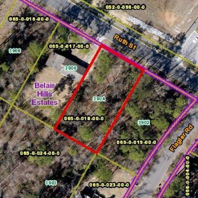 Augusta Residential Lots & Land For Sale: 3904 Ruth Street
