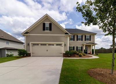 Grovetown Single Family Home For Sale: 5450 Victoria Falls Drive